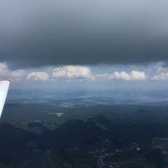 Flugwegposition um 11:48:29: Aufgenommen in der Nähe von Gemeinde Ulrichsberg, Österreich in 1942 Meter