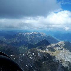 Flugwegposition um 12:20:53: Aufgenommen in der Nähe von Gemeinde Eben am Achensee, Österreich in 2953 Meter
