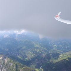 Flugwegposition um 12:36:11: Aufgenommen in der Nähe von Gemeinde Brandenberg, 6234, Österreich in 2778 Meter