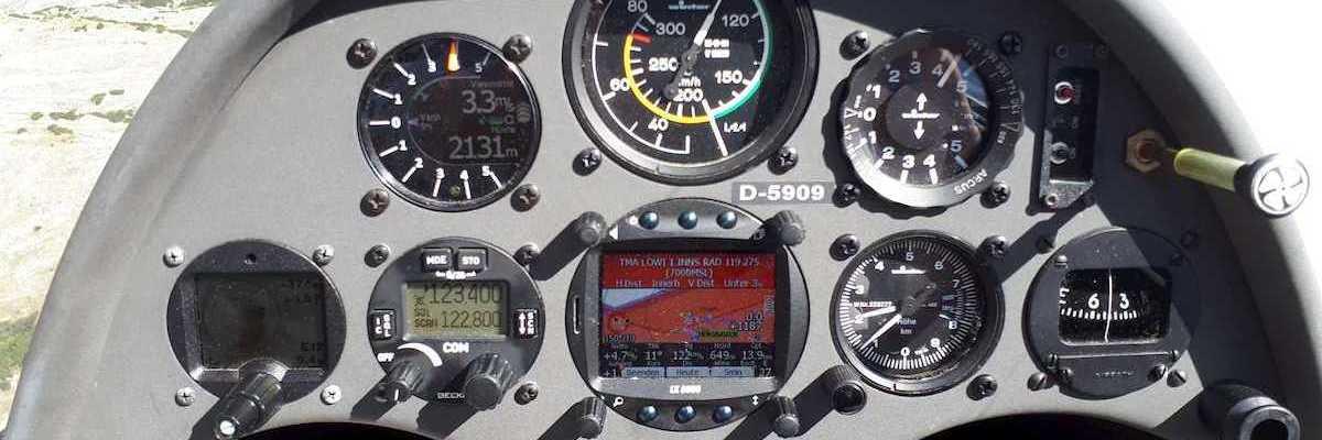Flugwegposition um 11:34:41: Aufgenommen in der Nähe von Innsbruck, Österreich in 2116 Meter
