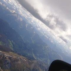Flugwegposition um 14:13:01: Aufgenommen in der Nähe von Gemeinde Kleinarl, Österreich in 3255 Meter