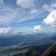 Flugwegposition um 14:10:49: Aufgenommen in der Nähe von Gemeinde Brandberg, 6290, Österreich in 3070 Meter