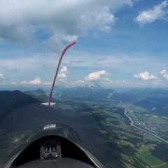 Verortung via Georeferenzierung der Kamera: Aufgenommen in der Nähe von Gemeinde Kundl, Österreich in 0 Meter
