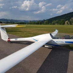Flugwegposition um 15:28:49: Aufgenommen in der Nähe von Gemeinde Oepping, Österreich in 1134 Meter