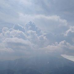 Flugwegposition um 12:51:38: Aufgenommen in der Nähe von Gemeinde Hohe Wand, Österreich in 1558 Meter