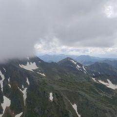 Flugwegposition um 13:25:25: Aufgenommen in der Nähe von Rottenmann, Österreich in 2243 Meter