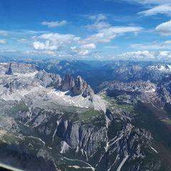Verortung via Georeferenzierung der Kamera: Aufgenommen in der Nähe von 39034 Toblach, Bozen, Italien in 3700 Meter