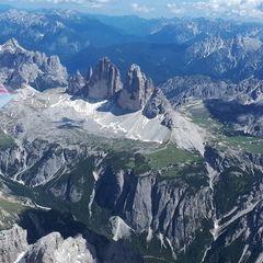 Verortung via Georeferenzierung der Kamera: Aufgenommen in der Nähe von 39034 Toblach, Bozen, Italien in 3800 Meter