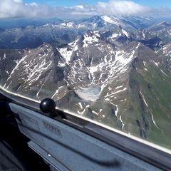 Flugwegposition um 13:57:58: Aufgenommen in der Nähe von 39040 Freienfeld, Bozen, Italien in 3387 Meter