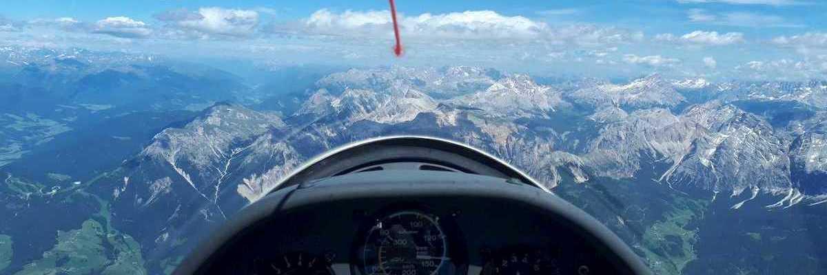 Verortung via Georeferenzierung der Kamera: Aufgenommen in der Nähe von 39030 St. Martin in Thurn, Bozen, Italien in 3800 Meter