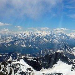 Flugwegposition um 13:08:33: Aufgenommen in der Nähe von Bezirk Inn, Schweiz in 3548 Meter