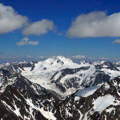 Flugwegposition um 13:48:47: Aufgenommen in der Nähe von Gemeinde Kaunertal, Österreich in 3604 Meter
