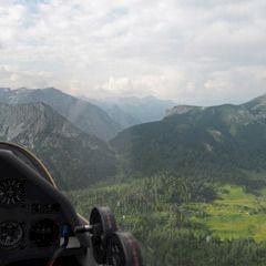 Flugwegposition um 16:35:20: Aufgenommen in der Nähe von Pürgg-Trautenfels, Österreich in 2057 Meter