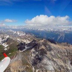 Flugwegposition um 12:48:21: Aufgenommen in der Nähe von Albula, Schweiz in 3329 Meter