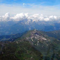 Flugwegposition um 12:48:02: Aufgenommen in der Nähe von Albula, Schweiz in 3371 Meter