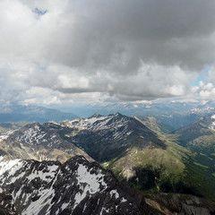 Flugwegposition um 13:19:18: Aufgenommen in der Nähe von Bezirk Inn, Schweiz in 3655 Meter