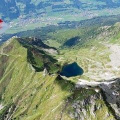 Flugwegposition um 14:58:30: Aufgenommen in der Nähe von Gemeinde Hollersbach im Pinzgau, Hollersbach im Pinzgau, Österreich in 2899 Meter