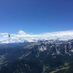 Flugwegposition um 10:13:47: Aufgenommen in der Nähe von 39030 St. Martin in Thurn, Bozen, Italien in 2915 Meter