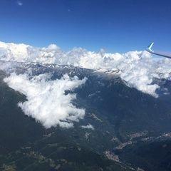 Flugwegposition um 14:56:54: Aufgenommen in der Nähe von 25040 Malonno, Brescia, Italien in 3358 Meter