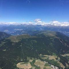 Flugwegposition um 10:13:54: Aufgenommen in der Nähe von 39030 St. Martin in Thurn, Bozen, Italien in 2905 Meter
