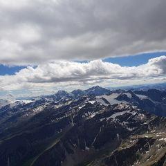 Verortung via Georeferenzierung der Kamera: Aufgenommen in der Nähe von 39020 Martell, Bozen, Italien in 3800 Meter