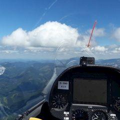 Verortung via Georeferenzierung der Kamera: Aufgenommen in der Nähe von Mürzsteg, Österreich in 2400 Meter