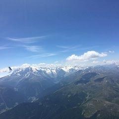 Flugwegposition um 11:10:12: Aufgenommen in der Nähe von 39020 Glurns, Bozen, Italien in 3410 Meter