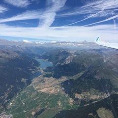 Flugwegposition um 11:09:52: Aufgenommen in der Nähe von 39020 Glurns, Bozen, Italien in 3418 Meter