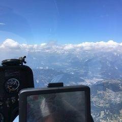 Flugwegposition um 11:51:37: Aufgenommen in der Nähe von Hinterrhein, Schweiz in 3209 Meter