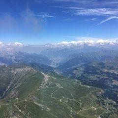 Flugwegposition um 11:50:41: Aufgenommen in der Nähe von Albula, Schweiz in 3228 Meter