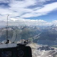 Flugwegposition um 12:53:52: Aufgenommen in der Nähe von Maloja, Schweiz in 3352 Meter
