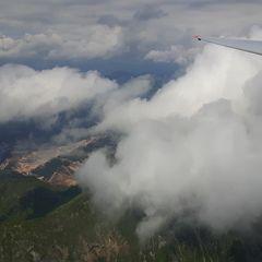 Flugwegposition um 12:01:22: Aufgenommen in der Nähe von Gai, 8793, Österreich in 2767 Meter