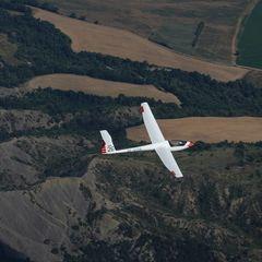 Flugwegposition um 14:22:24: Aufgenommen in der Nähe von Département Hautes-Alpes, Frankreich in 1303 Meter