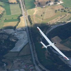 Flugwegposition um 13:50:21: Aufgenommen in der Nähe von Département Alpes-de-Haute-Provence, Frankreich in 2263 Meter