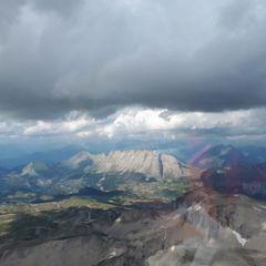 Flugwegposition um 15:50:32: Aufgenommen in der Nähe von Département Hautes-Alpes, Frankreich in 2842 Meter
