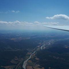 Flugwegposition um 13:13:04: Aufgenommen in der Nähe von Département Alpes-de-Haute-Provence, Frankreich in 2384 Meter