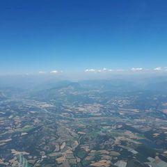 Flugwegposition um 11:26:50: Aufgenommen in der Nähe von Département Hautes-Alpes, Frankreich in 2352 Meter