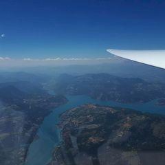 Flugwegposition um 13:06:07: Aufgenommen in der Nähe von Département Alpes-de-Haute-Provence, Frankreich in 2918 Meter