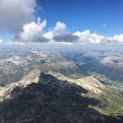 Verortung via Georeferenzierung der Kamera: Aufgenommen in der Nähe von Maloja, Schweiz in 4200 Meter