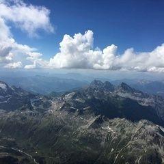 Verortung via Georeferenzierung der Kamera: Aufgenommen in der Nähe von Maloja, Schweiz in 4100 Meter