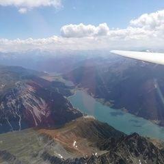 Verortung via Georeferenzierung der Kamera: Aufgenommen in der Nähe von Gemeinde Nauders, Österreich in 3800 Meter