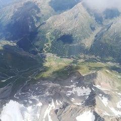 Flugwegposition um 13:56:20: Aufgenommen in der Nähe von 39013 Moos in Passeier, Bozen, Italien in 4055 Meter