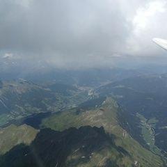 Flugwegposition um 14:05:36: Aufgenommen in der Nähe von 39040 Ratschings, Bozen, Italien in 3586 Meter
