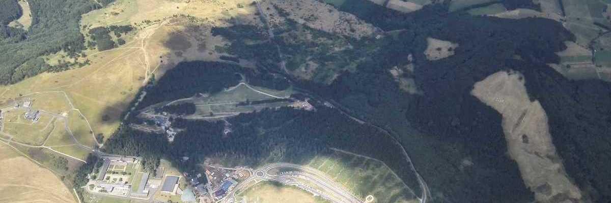Verortung via Georeferenzierung der Kamera: Aufgenommen in der Nähe von Fulda, Deutschland in 2200 Meter