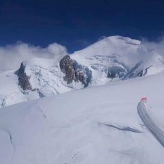 Flugwegposition um 13:50:28: Aufgenommen in der Nähe von Département Haute-Savoie, Frankreich in 3995 Meter