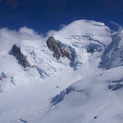 Flugwegposition um 13:50:39: Aufgenommen in der Nähe von Département Haute-Savoie, Frankreich in 4001 Meter