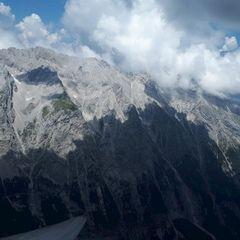 Flugwegposition um 12:13:52: Aufgenommen in der Nähe von Gemeinde Wildermieming, Österreich in 2673 Meter