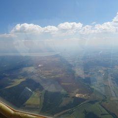 Flugwegposition um 11:12:44: Aufgenommen in der Nähe von Gemeinde Strem, Österreich in 1202 Meter
