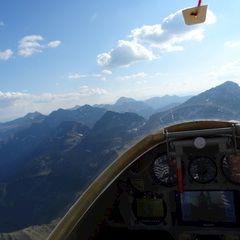 Flugwegposition um 14:28:04: Aufgenommen in der Nähe von Tragöß, 8612, Österreich in 2351 Meter