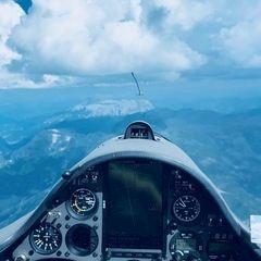 Verortung via Georeferenzierung der Kamera: Aufgenommen in der Nähe von Berchtesgadener Land, Deutschland in 3500 Meter